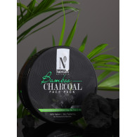 NutriGlow Natural Bamboo Charcoal Face Pack 200gm