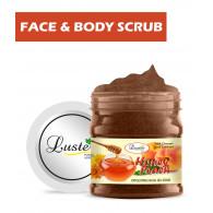 Luster Honey Peach Face & Body Gel Scrub (Para...