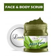 Luster Aloe Vera Face & Body Gel Scrub (Parabe...