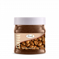 Luster Coffee Face & Body Gel Scrub (Paraben &...