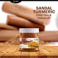 Luster Sandal & Turmeric Face & Body Gel S...