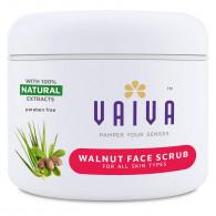 Vaiva Walnut face scrub 100ml