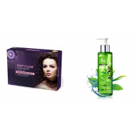 Combo of Party glow facial kit 300gm + Anti acne f...