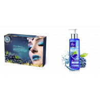 Combo of Bluerberry facial kit 300gm + Blueberry  ...