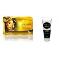 Combo of Sona chandi facial kit 300gm + Body soft ...