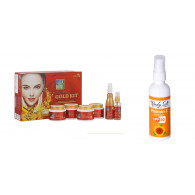 Combo of Astaberry Gold Facial Kit - 570gm and + B...