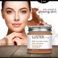 Luster Milk Chocolate Massage Cream - Soft Smooth ...