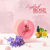 NutriGlow Natural's English Rose Body Butter 200gm