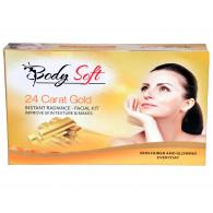 Body soft 24Carat gold facial kit  115gm