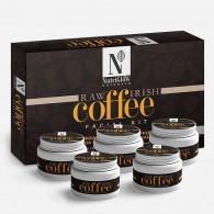 Nutriglow natural's raw irish coffe facial kit (26...