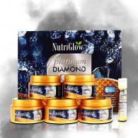 Nutriglow platinum diamond and gold facial kit for...