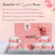 Nutriglow natural's english rose hydrosol facial k...