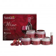 Nutriglow wine facial kit (260gm)
