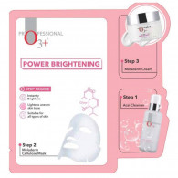 O3+ INSTANT HOME FACIAL POWER BRIGHTENING KIT 3 ST...