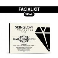 Combo of Luster Black diamond Facial Kit  310gm + ...