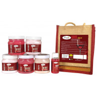 Combo of Luster red wine facial kit 2600gm + Notik...