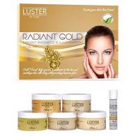 Luster Radiant Gold Facial Kit (Paraben & Sulf...