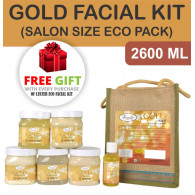 Combo of Luster gold radiance facial kit 2600gm + ...
