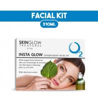 Combo of Luster Insta glow Facial Kit 310gm + Lume...