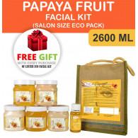 Luster Papaya fruit Facial Kit Salon Eco Pack 2600...
