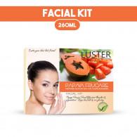 Combo of Luster Papaya Frucare Facial kit 115gm + ...