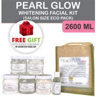 Luster Pearl Glow Whitening Facial Kit Salon Eco P...