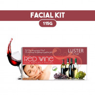 Combo of Luster Red wine age reflect Facial Kit 11...