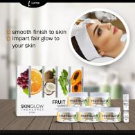Luster Fruit Glow Fairness Facial Kit (Paraben &am...