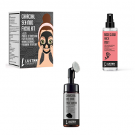 Combo of Luster Cosmetics Charcoal Sea Mud Facial ...
