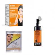 Combo of Luster Cosmetics Vitamin C Facial Kit 45g...