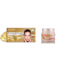 Combo of Luster Gold radiance Facial Kit 115gm + S...